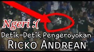 Download Ngeri detik-detik pengeroyokan Ricko Andrean - PERSIB