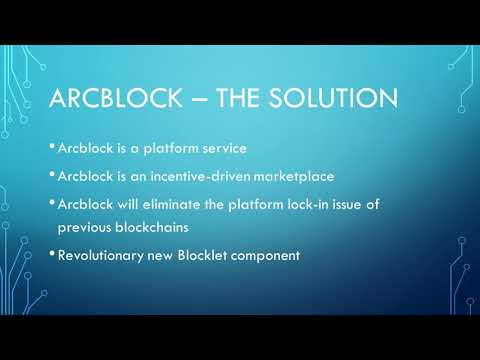 Arcblock - Blockchain 3.0 The Future Of Cryptocurrency