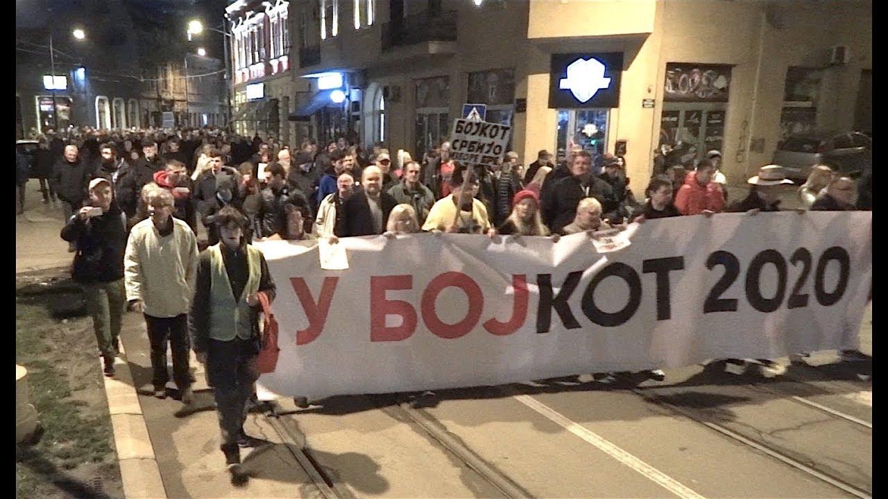 Protest Beograd 15.02.2020. U Karađorđevoj