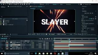 TUTORIAL INTRO 2D USANDO SOMENTE O AFTER EFFECTS+Plugin Shake