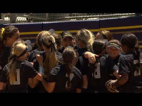 Recap: Oregon softball shuts out California to sweep series, claim Pac-12 title outright