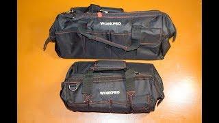 Лучшие сумки для инструментов с Китая. WorkPro 14 и WorkPro 18 с AliExpress