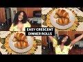 TAMZY TREATZ : EASY CRESCENT DINNER ROLLS