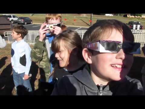 North Hart Elementary School Solar Astronomy Nov 23rd 2015