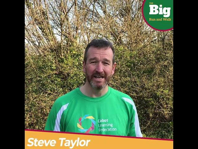 Steve Taylor Supports CLF Big Run and Walk
