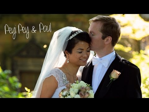 Edinburgh Castle wedding - Peyi Pey & Paul
