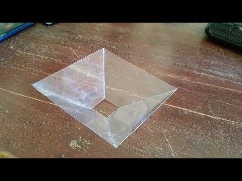 โฮโลแกรม ทำได้ง่ายๆ  How to make  3D holograms.