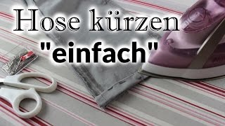 [Do it yourself] Hose kürzen - einfach (ohne Originalsaum)