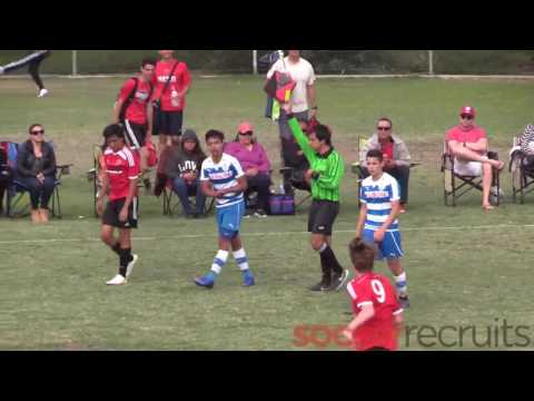 ALBION WHITE B00 vs NOTTS FOREST FC B00 RED on UCSD Warren  1