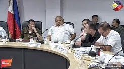 PRESIDENT DUTERTE COMMAND PREPARATIONS OF TYPHOON 'OMPONG' AT THE OFFICE OF NDRRMC !