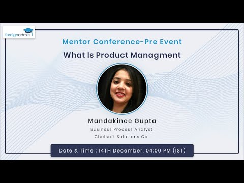 What is Product Management? Learn more about Product Management in One Hour | Mentor Conference