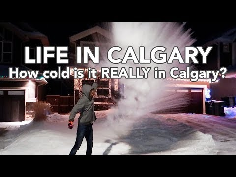LIFE IN CALGARY: How cold is it REALLY in Calgary?