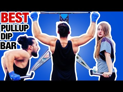 Portable Pullup & dip bar THE BEST AND FIRST ONE EVER ! WORKOUT EVERYWHERE !  | OurLovelyJourney