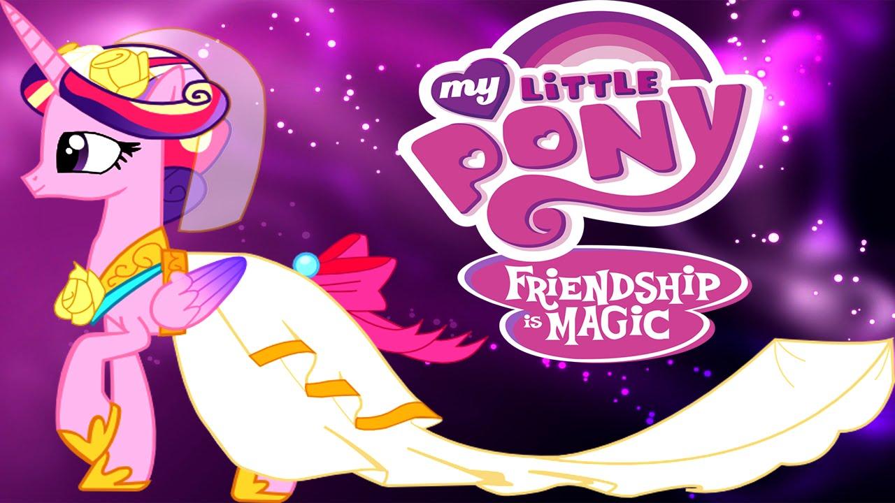 MLP Wedding Dress Designer for Princess Cadence Fun Game - YouTube