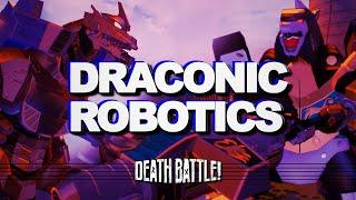 DRACONIC ROBOTICS (Dragonzord VS Mechagodzilla) | DEATH BATTLE Music Video | Therewolf Media