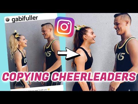 We Copied Famous Cheerleaders' Instagram Pictures