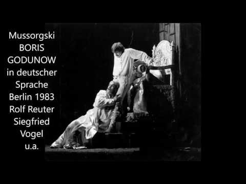 Mussorgski: Boris Godunow (Berlin 1983, in deutscher Sprache)