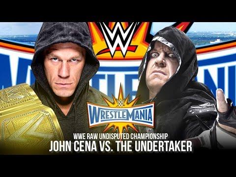 WWE Wrestlemania 33 Trailer | John Cena vs. The Undertaker (WWE 2K17 Story)