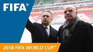 LIVE - Talk show on preparations for the FIFA World Cup™