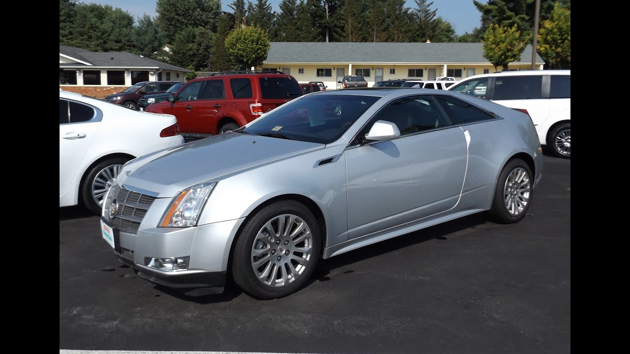 2011 Cadillac Cts 4 Coupe Start Up And Tour Youtube