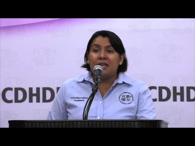 Discurso de la Dra. Perla Gómez 7ª Feria de los Derechos de las Personas con Discapacidad