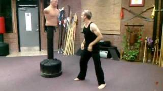 Spinning Kicks are Sexy.....Watch This and Kick 7 Feet High!