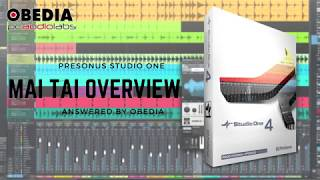 PreSonus Studio One 4 - Mai Tai and Synthesis Overview
