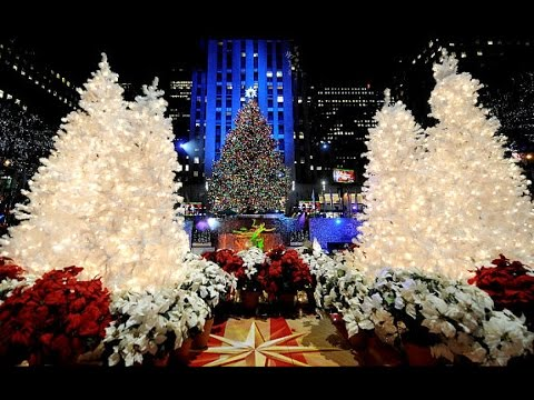 Christmas Tree Decorating Songs Ideas Music Playlist Medley Carols for Children Lights 2014