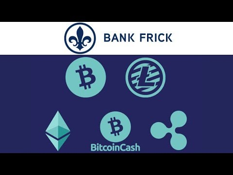 Bank Frick to allow Customers to Invest Directly in Crypto - First Bank to do this! BTC XRP ETH LTC