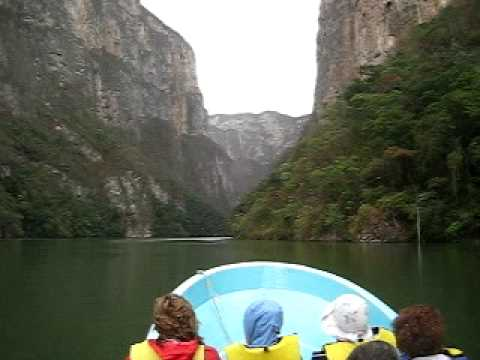 Sumidero Canyon boat trip