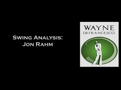 Jon Rahm Golf Swing Analysis