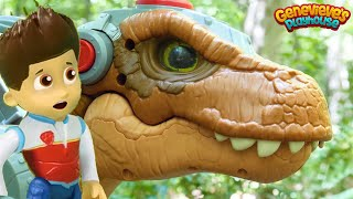 Best Paw Patrol Toy Learning Video For Kids Dinosaur Rescue Mission!