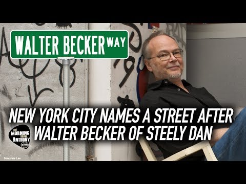 NEW YORK CITY NAMES A STREET AFTER WALTER BECKER OF STEELY DAN Mp3