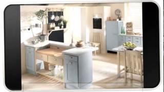 Blue Modern Kitchen Storage