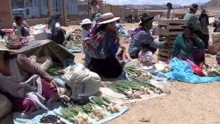 Le Marché de TARABUCO    BOLIVIE