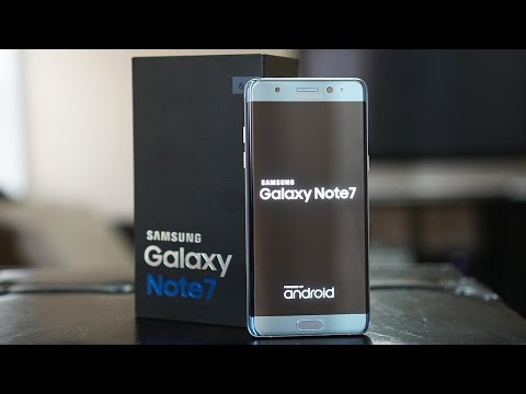 Samsung Galaxy Note 7 Unboxing: Well Hello Beautiful