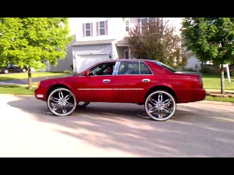 Underground Rim King Cadillac On 28 S Vogued Youtube