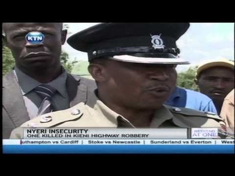 Nyeri local leaders blame the judiciary for releasing hardcore criminals back into the society