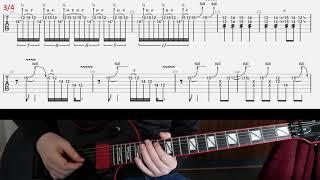Metallica Bleeding Me solo cover and lesson