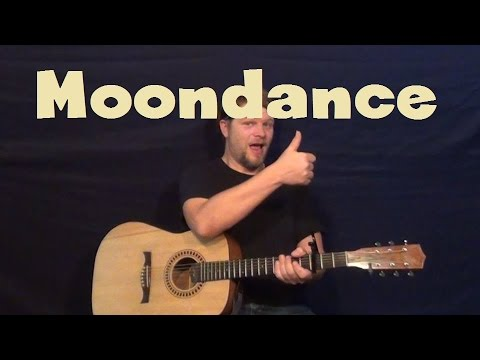Moondance (Van Morrison) Easy Strum Guitar Lesson How to Play Tutorial