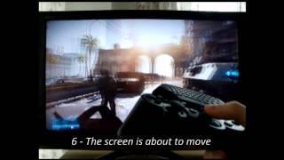 Battlefield 3 PS3 input lag resolution test