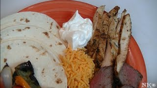 Adobo Chicken Fajitas Recipe ~ Noreen's Kitchen