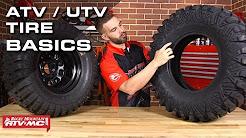 7 Basics To Know About ATV/UTV Tires!