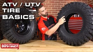 7 Basics To Know About ATV UTV Tires