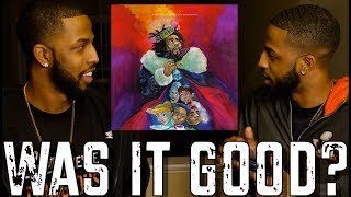 """J COLE """"KOD"""" REVIEW AND REACTION #MALLORYBROS 4K"""