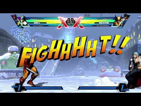 Umvc3 ft10 Monkey VS Falcon punch
