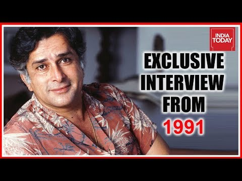 Shashi Kapoor Exclusive  To India Today From 1991