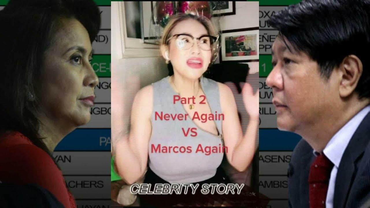 Keanna Reeves MAY PASABOG NA BANAT kay Leni Robredo at Bongbong Marcos