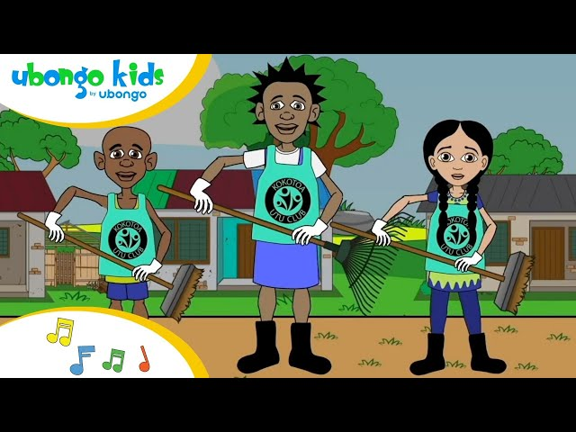 No More Pollution (Be the Solution) | Singalong with the Ubongo Kids | African Educational Cartoons