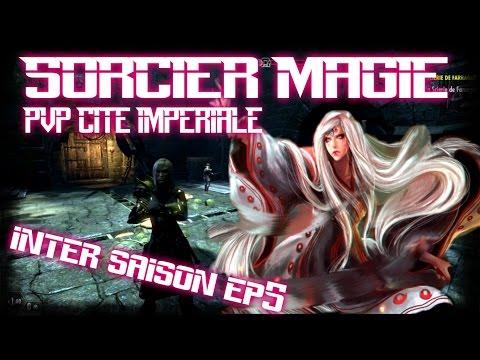 TESO - PVP CITE IMPÉRIALE sorcier magie ( inter saison ep5 ) duel,duel,duel!!!!!